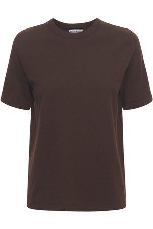 Bottega Veneta Cashmere Knit Short Sleeved Top