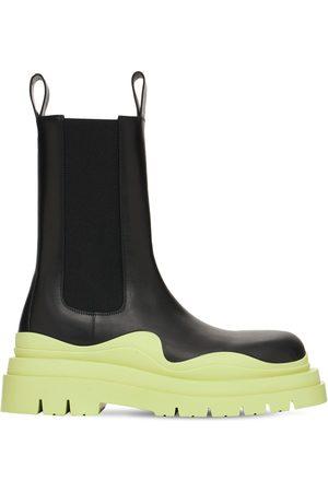 Bottega Veneta Miehet Nilkkurit - Bv Tire Leather Chelsea Boots