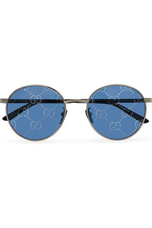 Gucci Miehet Aurinkolasit - GG0944SA Sunglasses Silver/Blue