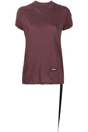 Rick Owens Logo-patch cotton T-shirt