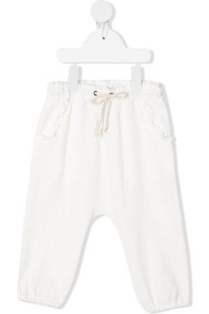 Zhoe & Tobiah Ruffle detail track pants