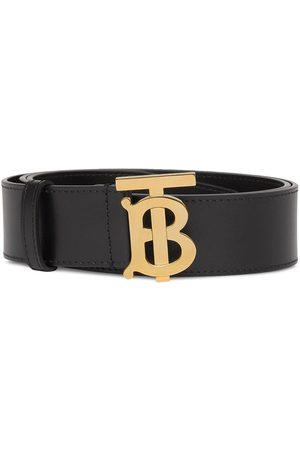 Burberry Monogram buckle belt
