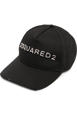 Dsquared2 Naiset Hatut - Crystal-embellished logo baseball cap