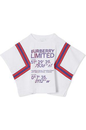 Burberry Coordinates-print cotton T-shirt