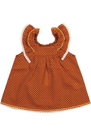 Caramel Vauvat Printtimekot - Baby Mulloway polka-dot cotton dress