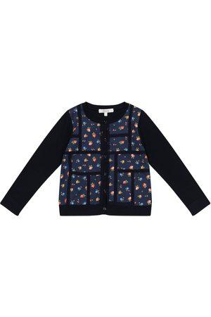 BONPOINT Liberty-print floral cotton cardigan