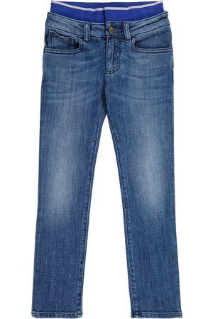 Emporio Armani Stretch-cotton jeans