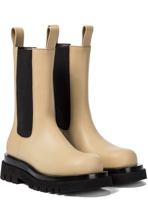 Bottega Veneta Naiset Nilkkurit - BV Lug leather ankle boots