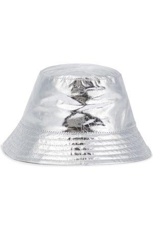 Isabel Marant Haley metallic leather bucket hat