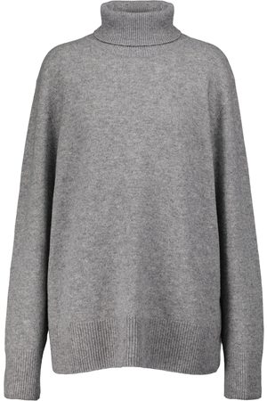 The Row Naiset Poolopaidat - Stepny wool and cashmere turtleneck sweater