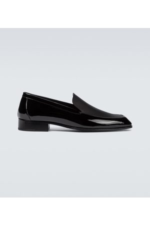 Saint Laurent Miehet Loaferit - Henry patent leather loafers