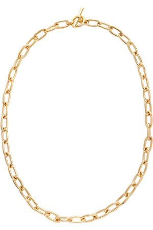 Tilly Sveaas 18kt gold-plated chain necklace