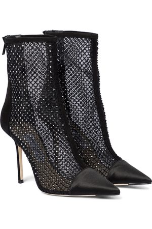 Jimmy Choo Marquis 100 embellished ankle boots