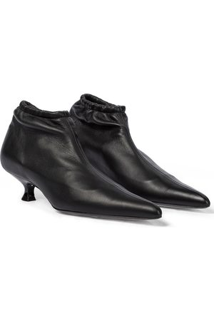 Khaite Naiset Nilkkurit - Volos leather ankle boots