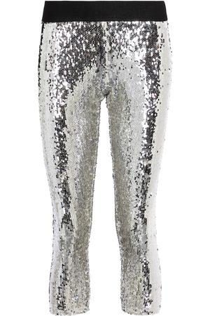 JUNYA WATANABE Naiset Leggingsit - Sequined mid-rise leggings