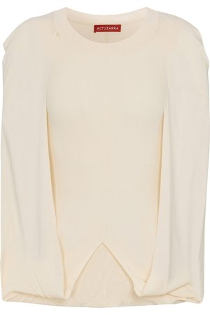 Altuzarra Buttercup cape top