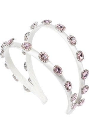 MONNALISA Tytöt Hiuspannat - Crystal-embellished headband