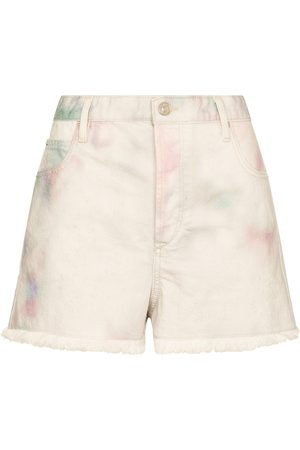 Isabel Marant Lesiabb tie-dye denim shorts