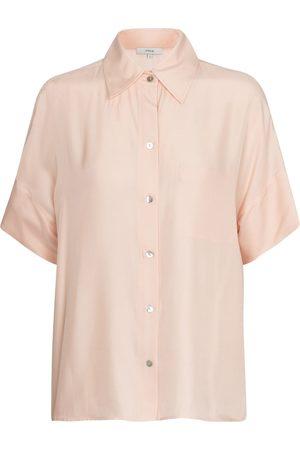 Vince Silk-blend shirt