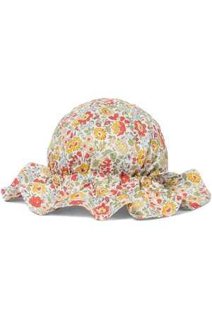 Caramel Marlin cotton sun hat