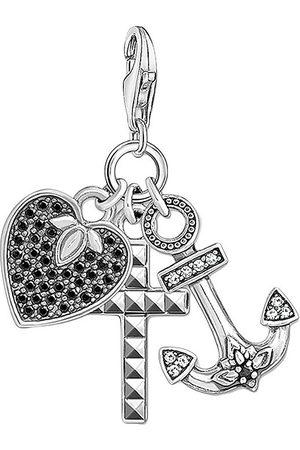 Thomas Sabo Naiset Kaulakorut - Charm Pendant Cross, Heart, Anchor Kaulakoru Riipukset