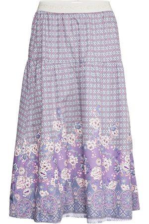 Lollys Laundry Naiset Midihameet - Cokko Skirt Polvipituinen Hame Sininen