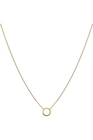 syster P Minimalistica Ring Necklace Gold Accessories Jewellery Necklaces Dainty Necklaces Kulta