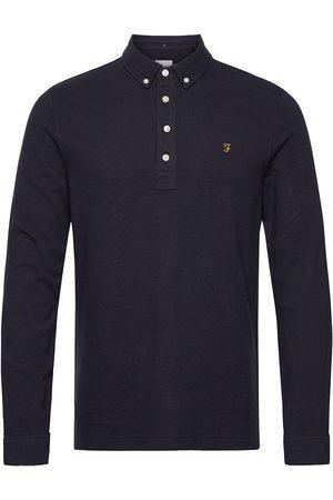 Farah Miehet Pitkähihaiset - Ricky Long Sleeved Polo Shirt Polos Long-sleeved