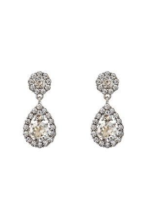 LILY AND ROSE Naiset Korvakorut - Petite Sofia Earrings Crystal One size