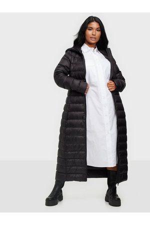 VILA Naiset Untuvatakit - Vimanya New Long Light Down Jacket