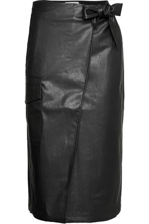 Designers Remix Naiset Midihameet - Marie Wrap Skirt Polvipituinen Hame