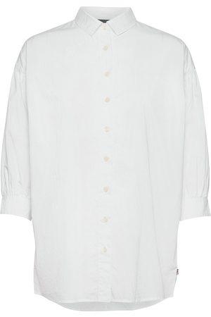 Lexington Maria Long Poplin Shirt Pitkähihainen Paita