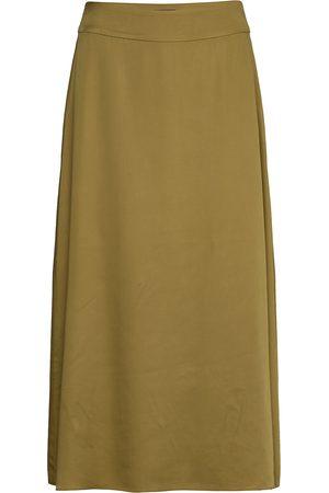 GANT D1. Fluid Long Skirt Polvipituinen Hame