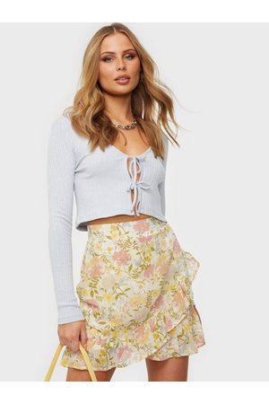 Vila Naiset Minihameet - Viselene Hw Wrap Skirt/Su