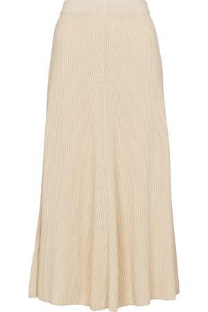 Joseph Naiset Midihameet - Ribbed-knit cotton midi skirt