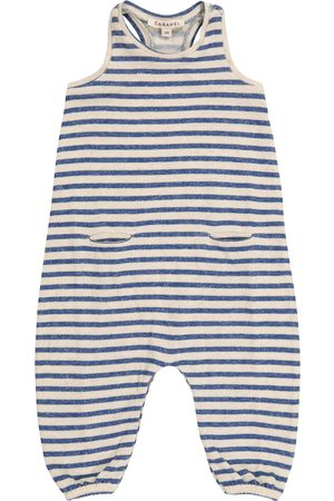 Caramel Baby Swordfish striped onesie