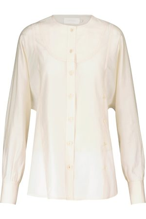 Low Classic Collarless shirt