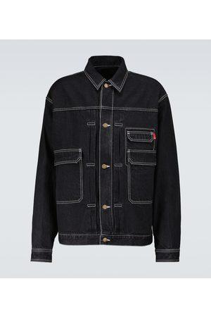 UNDERCOVER Buttoned denim blouson jacket