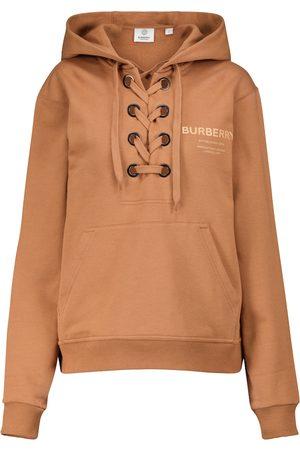 Burberry Naiset Pitkähihaiset - Horseferry organic cotton hoodie