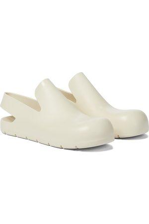 Bottega Veneta Naiset Kumisaappaat - Rubber slingback slippers