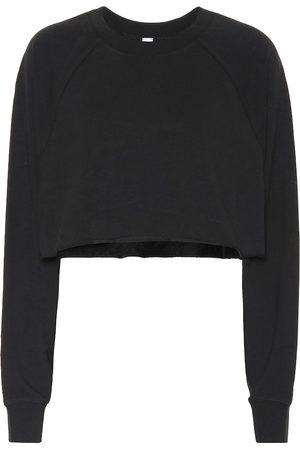 alo Double Take cotton-blend sweater