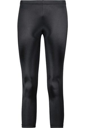JUNYA WATANABE Naiset Leggingsit - High-rise cropped jersey leggings
