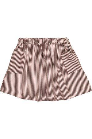 Caramel Tytöt Hameet - Cormoran striped cotton poplin skirt