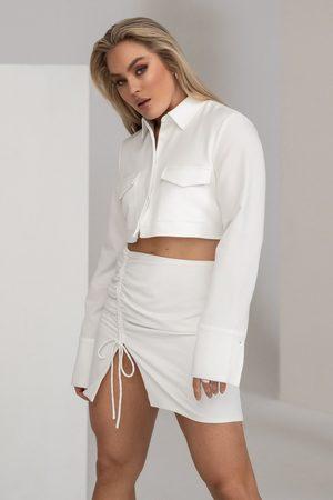 Angelica Blick x NA-KD Hame - White