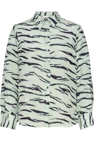 Second Female Naiset Pitkähihaiset - Tiger Shirt Pitkähihainen Paita
