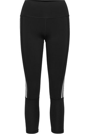 adidas Naiset Leggingsit - Believe This 2.0 3-Stripes Ribbed 7/8 Tights W Running/training Tights