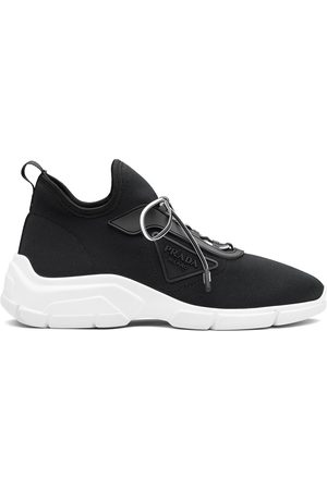 Prada Naiset Loaferit - Knit lace-up sneakers