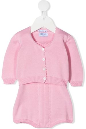 SIOLA Haalarit - Cable-knit romper-set