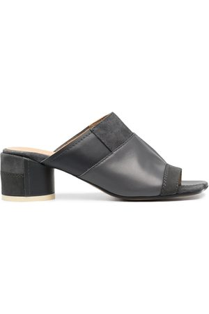 MM6 MAISON MARGIELA Naiset Sandaletit - Panelled block-heel sandals