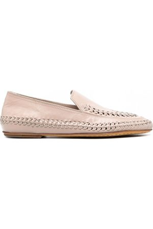 Officine creative Naiset Loaferit - Bessie woven leather loafers